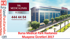 Bursa Özel Medicalpark Hastanesi Muayene Ücretleri 2019