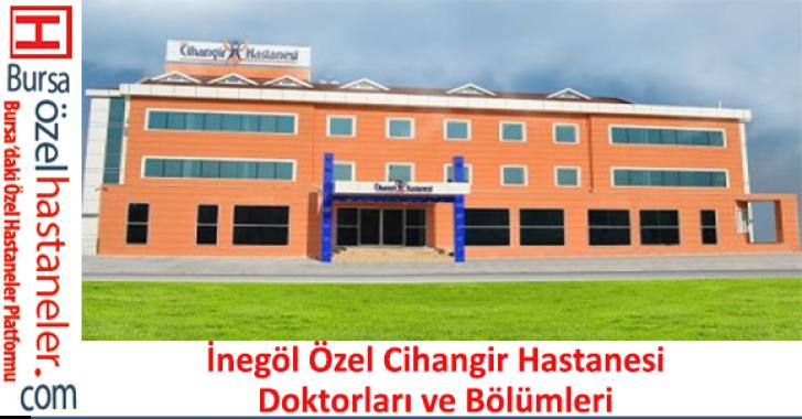 Özel Cihangir Hastanesi Doktorları ve Bölümleri Listesi